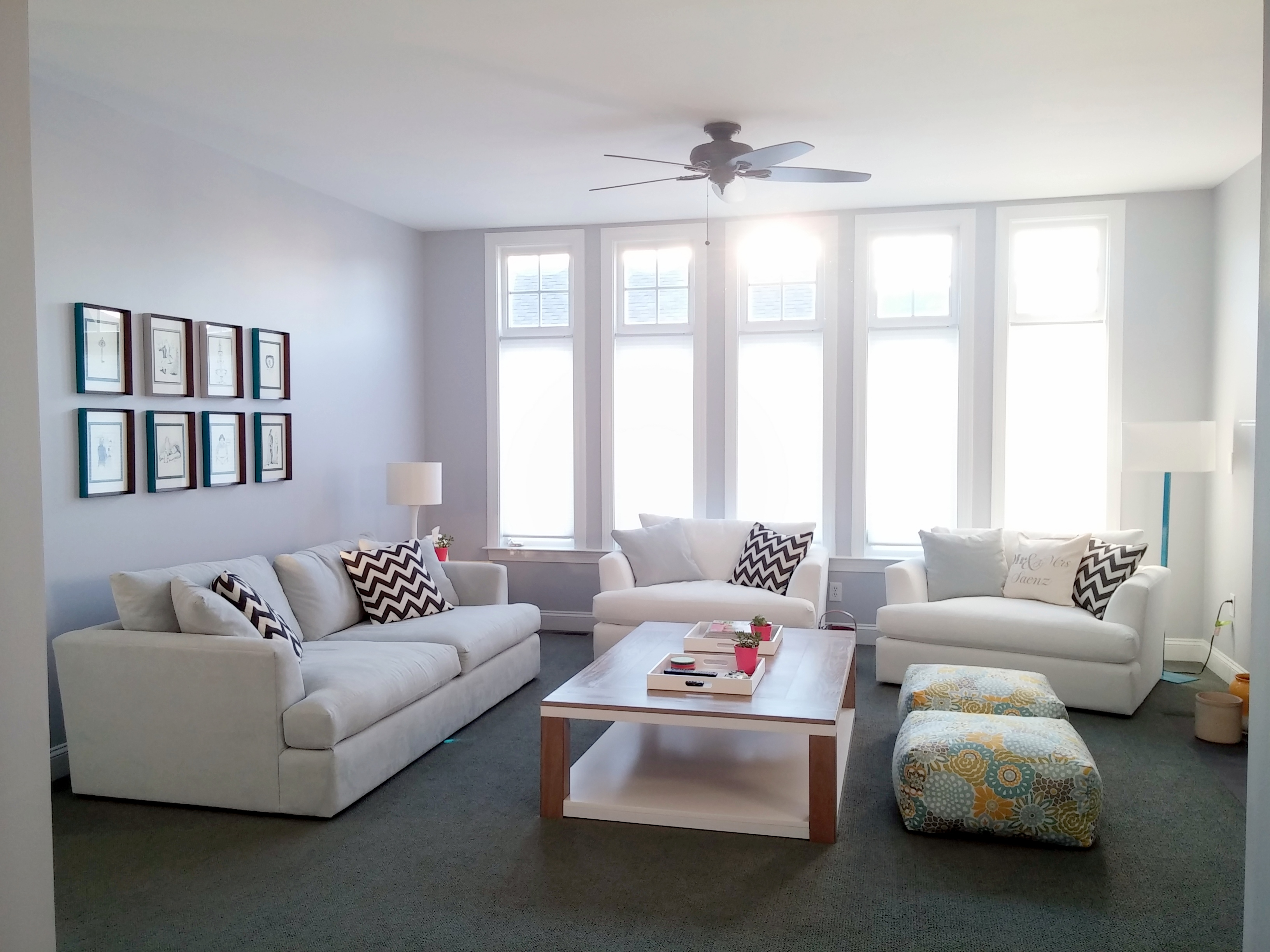 Our Living Room Transformation Design By Saenz